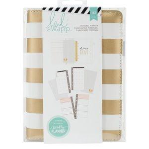 Heidi Swapp Gold Stripe Memory Planner